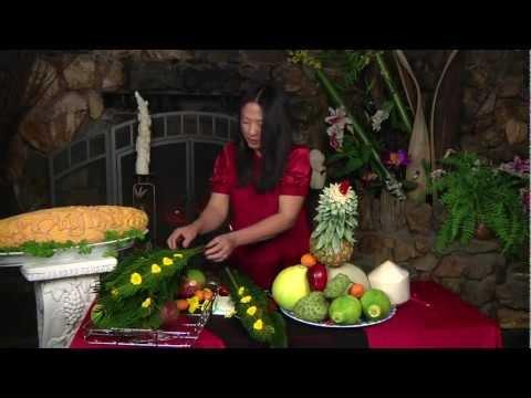 Mam Trai Cay voi Hinh Con Cong