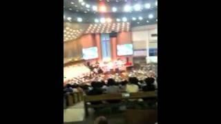 韓国教会巡り イエスキリスト 規模がデカイです