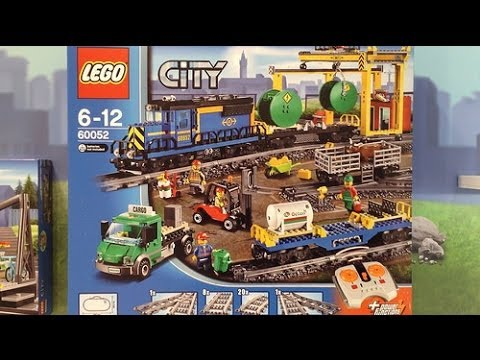 NEW Lego City 2014 Train Set Images - YouTube
