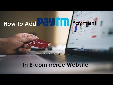 How To Add Paytm Payment Gateway In website | Online Payment