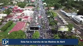 diferencias de la marcha de las madres de abril y el plantón de los orteguistas en managua