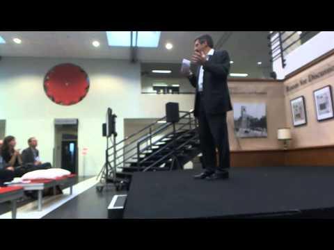 UvA - Docentendag, Arnoud Boot - Hoogleraar Corporate Finance and Financial Markets