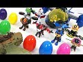Dragon jelly attack!! Paw Patrol Mission Paw air rescue transform and surprise eggs!! - DuDuPopTOY