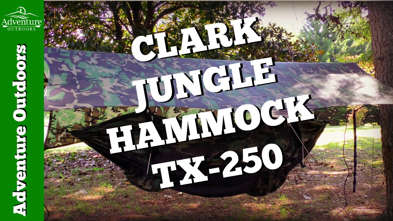 camping gear   clark jungle hammock tx 250 review   camping hammock camping gear   clark jungle hammock tx 250 review   camping      rh   youtube