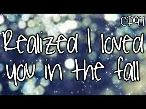 Back to December by Taylor Swift Lyrics!