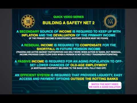 Building a safety net for your assets Video 2...... Passive and Residual Income