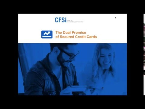 #Webinar: The Dual Promise of Secured #Credit Cards
