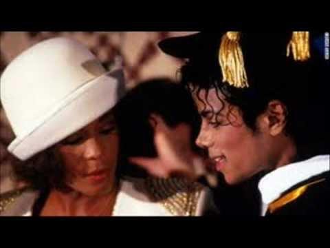 Whitney Houston & Michael Jackson  Duet Rock With Somebody.