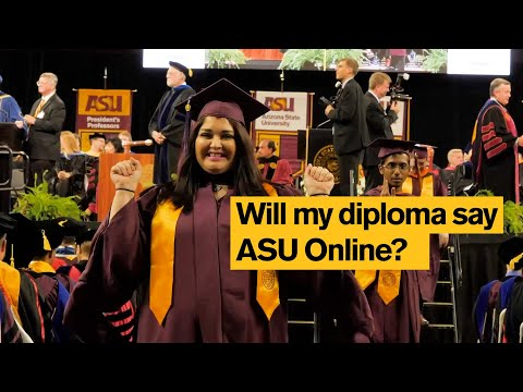 """Do ASU Online degrees say """"online""""?"""