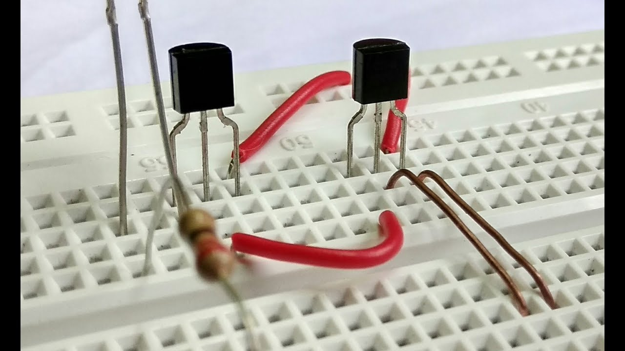 how to use a transistor