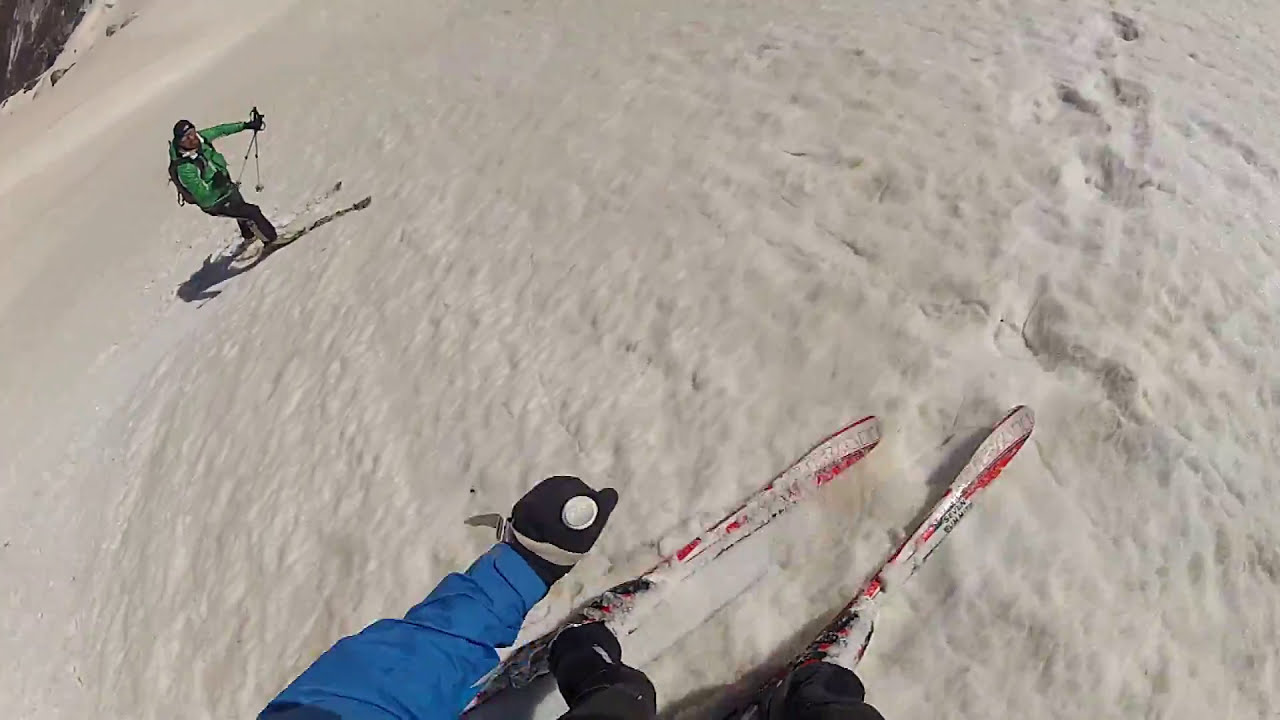 Terminillo scialpinismo di primavera.video hd