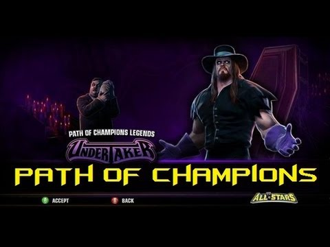 "WWE All Stars-""Path Of Champions"": The Undertaker Path"