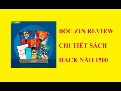 download sách hack não 1500 từ vựng tiếng anh - BÓC ZIN và REVIEW chi tiết sách HACK NÃO 1500 từ tiếng anh