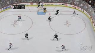 NHL 08 Xbox 360 Gameplay - Victory! (HD)