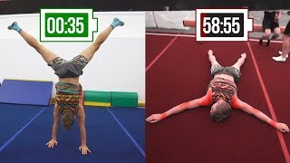 ЧТО, ЕСЛИ простоять на руках 60 минут? Уничтожение Олимпийского призера