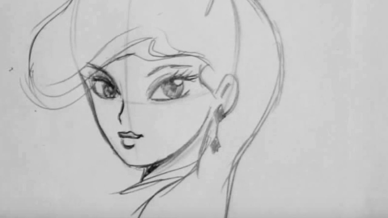 How To Draw a Glamourous Girl (Step by Step) - YouTube
