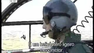 Entrevista em voo Alouette III - Força Aérea Portuguesa