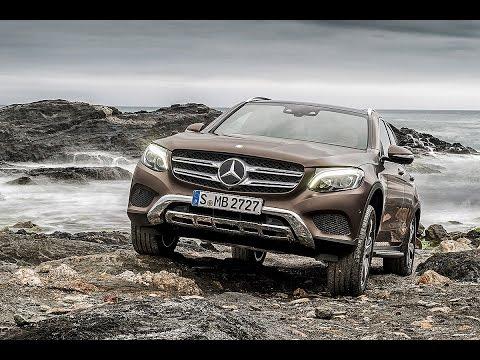 Mercedes GLC Welt-Premiere (2015) – Sitzprobe im neuen SUV