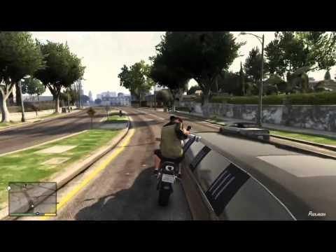 GTA 5 видео на русском обзор прохождение игры gameplay задание Папарацци