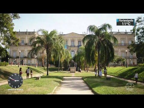 Prédio do Museu Nacional não tem seguro e brigada de incêndio | SBT Notícias (05/09/18)