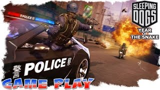 Sleeping Dogs - Year Of The Snake - Soho Riots // Park Assault // Nerve Gas - Gameplay VI