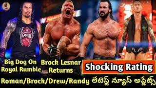 Roman Reigns On Royal Rumble/ Brock Lesnar Returns 2020/ Randy Orton/ WWE Summerslam 2020,WWE News