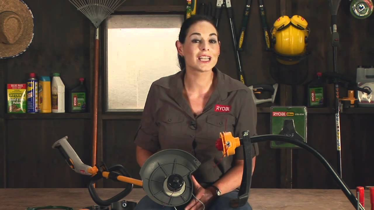 RYOBI: What is a 'bump feed' trimming line head?