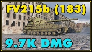 World of Tanks | FV215b (183) - 6 Kills - 9.7K Damage