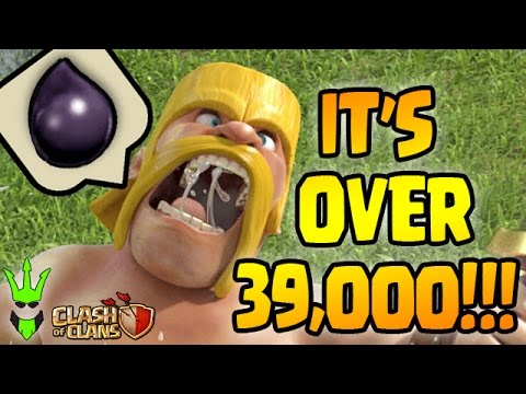 OVER 39K DE!!!! - Farming King to 40! - Huge Dark Elixir Farming Raids! - Clash of Clans