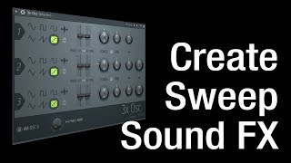 How to create Windy Sweep Effect in FL Studio - White Noise Tutorial
