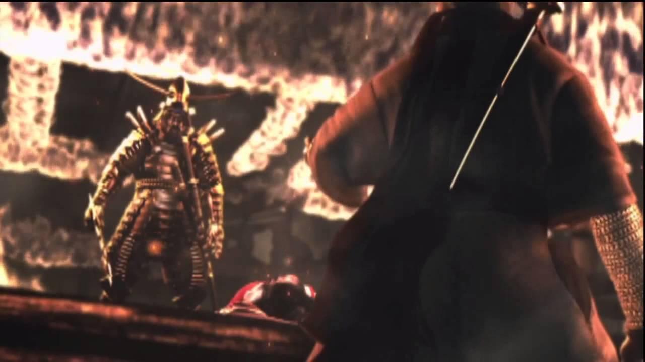 Ninja Gaiden Black Doku Village Attack Cutscene Youtube