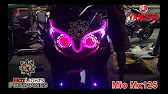 Yamaha Mio Led Projector And Eyeline YouTube - Mio decalsmiomodified by boyong luzano apalit pampanga youtube
