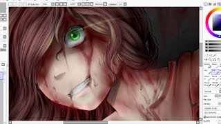 Speedpaint- Sally  (Creepypasta)