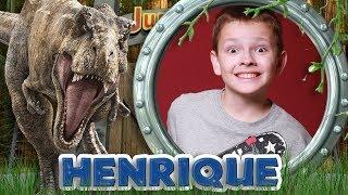 Convite Animado   Jurassic World