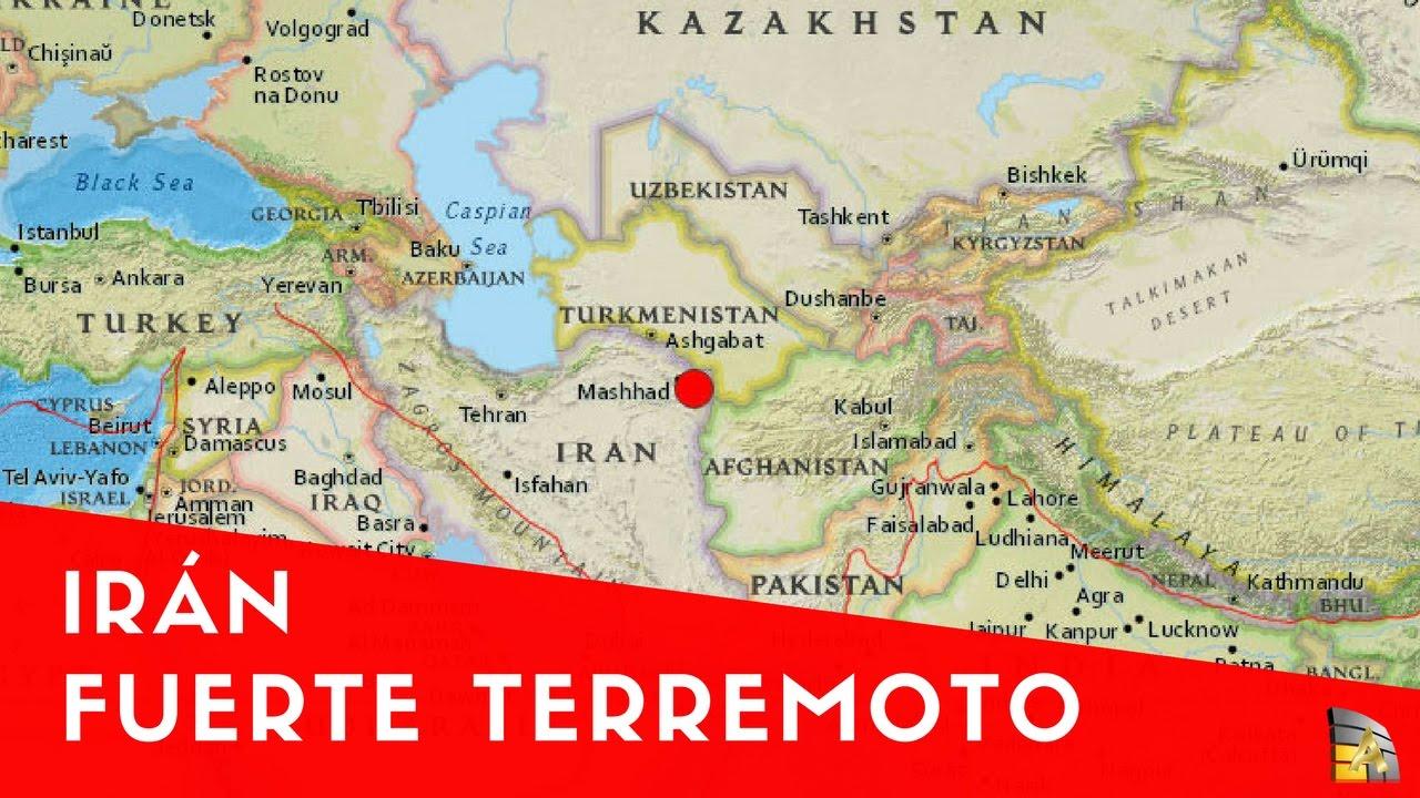 Terremoto en Irán Al menos dos muertos y grandes daños terremoto en Irán
