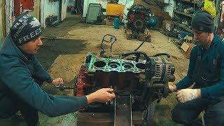 Разбираем заклинивший двигатель Cummins 2.8 Обрыв цепи ГРМ Газель Соболь.. Астра Моторс