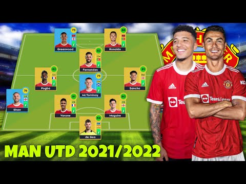 Ronaldo ra mắt đội hình Manchester United 2021/2022 cực mạnh | Dream League Soccer 2021