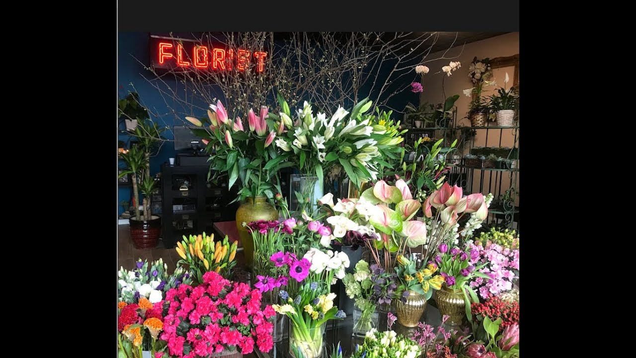 See Inside The New Langdon Florist Of Tribeca Youtube