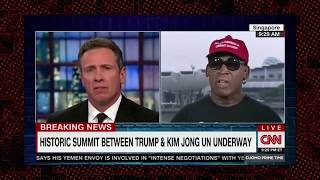 Dennis Rodman Goes On A Rant About Obama and Praises Trump For NK Summit