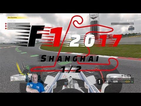 F1 2017 🏎 Pole? 🏎 #3 China Shanghai 1/2 🏎 Deutsch/HD 🏎 COOP