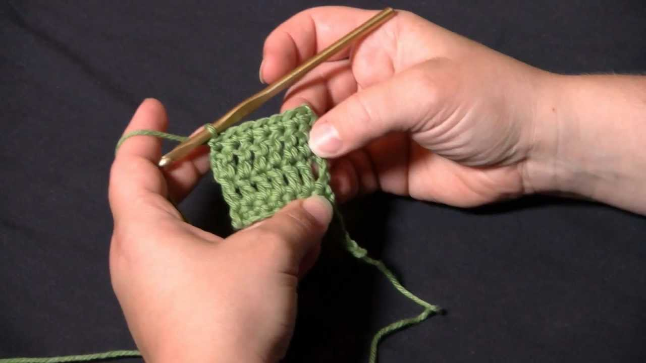 How To Crochet All About Turning Chains Youtube
