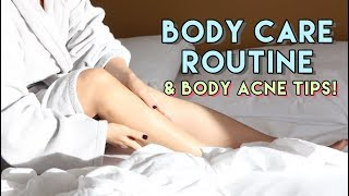 figcaption My Body Care Routine & Body Acne Tips (Chestne, Bacne)