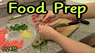 Food Prep - Almond Milk, Salad Dressing Mix, Veggie Prep And More (5.24.15)