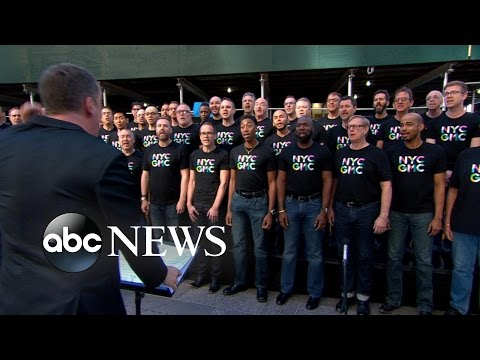 NYC Gay Mens Chorus Performs Light on GMA