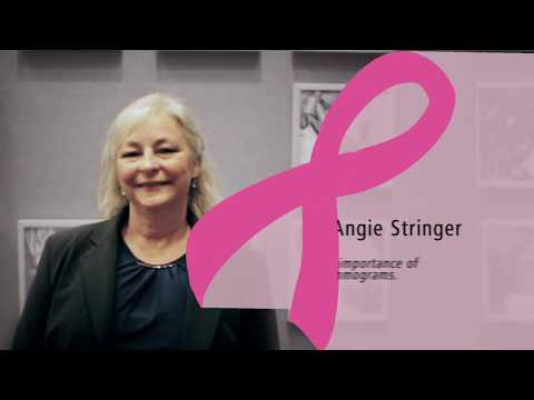 Angie Stringer - Breast Cancer Awareness Month