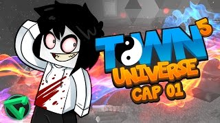 TOWN UNIVERSE 5: EL REGRESO DE UNA SERIE ÉPICA #1 (MINECRAFT SERIE DE MODS)