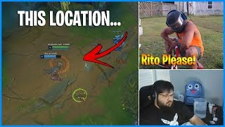 In This Location Every Champion has Teemo's Passive... | LoL Daily Moments Ep 556