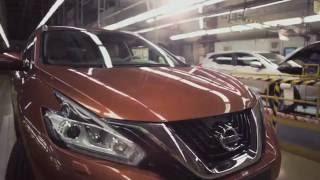 Модельный ряд автомобилей Nissan, выпускаемых в Санкт Петербурге 2016