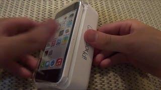 iPhone 5C - Primeiro iPhone 5c comprado no Brasil: Unboxing