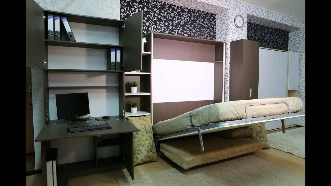 шкаф стол трансформер и шкаф кровать трансформер 2 х спальный от